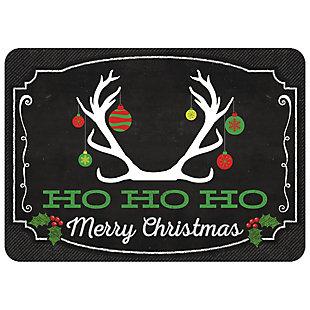 "Christmas  Premium Comfort Blackboard Deer Ornament 22""x31"" Mat, , rollover"