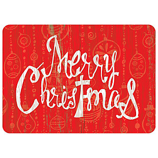 "Christmas  Premium Comfort Merry Christmas 22""x31"" Mat, , rollover"