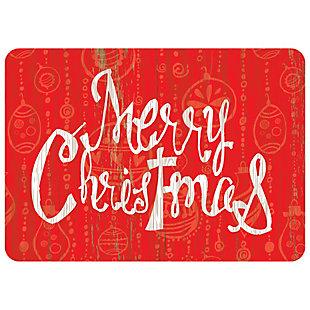 "Christmas  Premium Comfort Merry Christmas 22""x31"" Mat, , large"