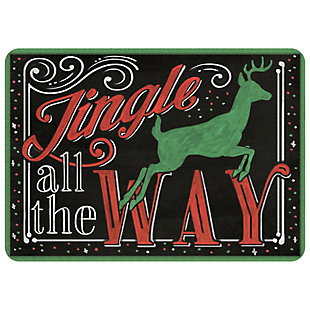 "Christmas  Premium Comfort Jingle All the Way 22""x31"" Mat, , rollover"