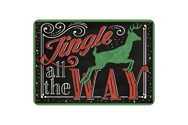 "Christmas  Premium Comfort Jingle All the Way 22""x31"" Mat, , large"