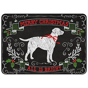 "Christmas  Premium Comfort Holiday Lab 22""x31"" Mat, , rollover"