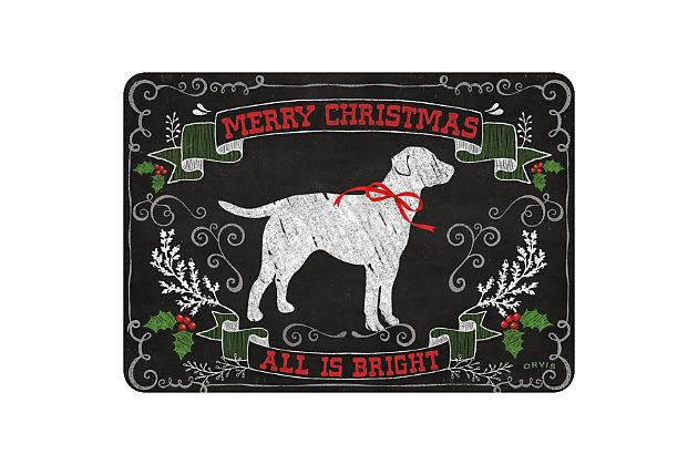 "Christmas  Premium Comfort Holiday Lab 22""x31"" Mat, , large"
