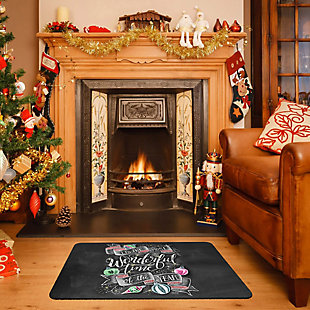 "Christmas  Premium Comfort Most Wonderful Time 22""x31"" Mat, , rollover"