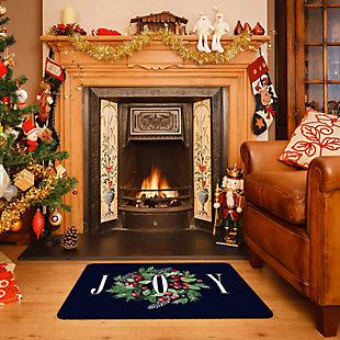"""Christmas  Premium Comfort Classic Wreath 22""""x31"""" Mat, , rollover"""