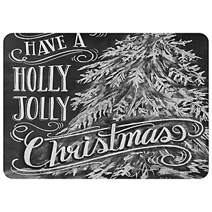 "Christmas  Premium Comfort Holly Jolly 22""x 31"" Mat, , large"
