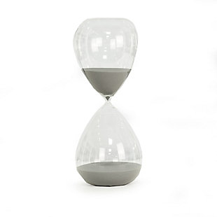 Bey-Berk 240 Minute Sand Timer with Gray Sand, Gray, large