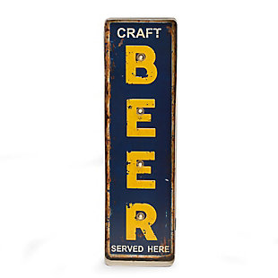 "Bey-Berk ""Craft Beer"" Metal Sign, LED Lighted, Wall Mountable, , large"
