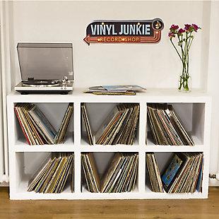 "Bey-Berk ""Vinyl Junkie""  LED Lighted Sign, , rollover"