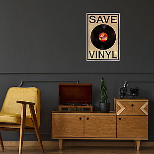 "Bey-Berk ""Save Vinyl"" LED Sign, , rollover"