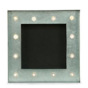 Bey-Berk Chalkboard Sign with LED Lights, , large