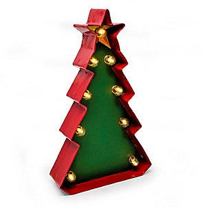 Bey-Berk Christmas  Tree LED Sign, , large