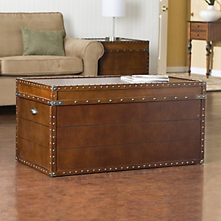 Zervis Trunk Cocktail Table, , rollover