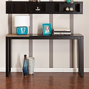 Lydock Console Table - Black, , rollover