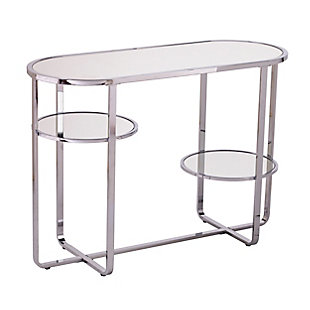 Tobye Mirrored Console Table with Storage, , large