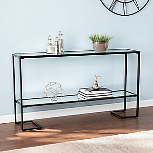 Namonra Glam Narrow Console Table - Black, , rollover