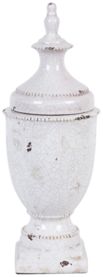 Ashley Home Accents Urn, Ivory