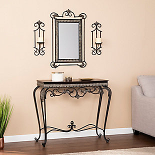 Stanton Console/Mirror/Sconce Pair (Set of 4), , rollover