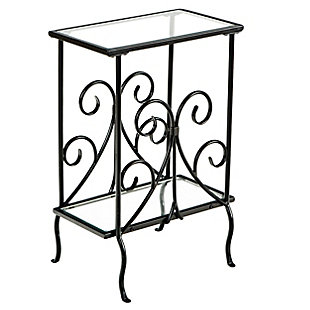 Nilam Decorative Metal Magazine Table, , large