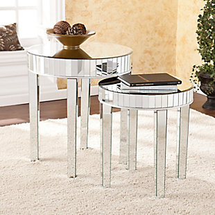 Tod Mirrored Nesting Table (Set of 2), , rollover