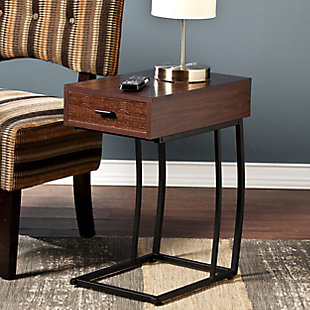 Naella Side Table with Power and USB, , rollover