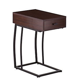 Naella Side Table with Power and USB, , large