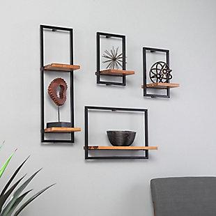 Hezlyn Wall Shelf Set (Set of 4), , rollover