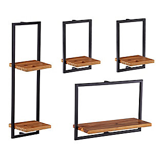 Hezlyn Wall Shelf Set (Set of 4), , large