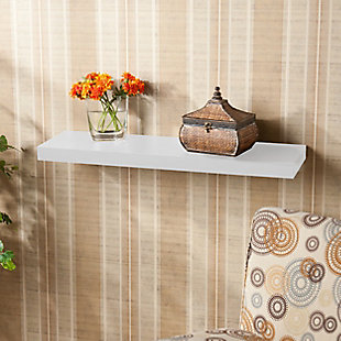 """Parma Floating Shelf 36"""" - White, , rollover"""