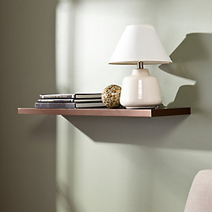 """Mollie Floating Shelf 36"""" - Chocolate, , rollover"""