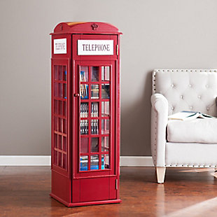 Rendon Phone Booth Storage Cabinet, , rollover