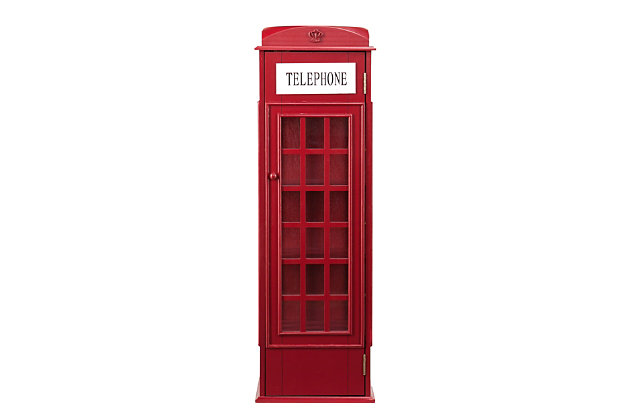 Rendon Phone Booth Storage Cabinet, , large