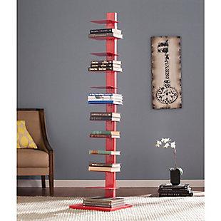 Orielle Spine Tower Shelf - Valiant Poppy, , rollover