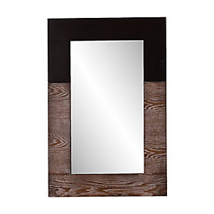 Wagars Mirror - Burnt Oak/Black, , large