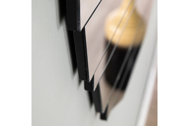 Sliwas Contemporary Hanging Wall Mirror, , large