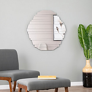 Sliwas Contemporary Hanging Wall Mirror, , rollover