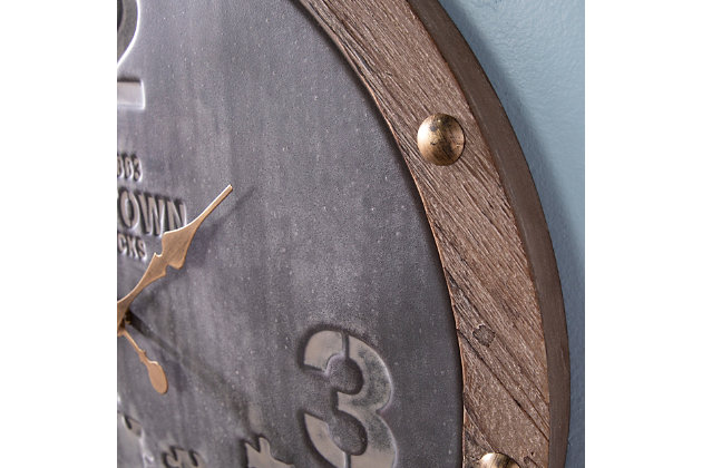 Hamma Decorative Wall Clock, , large