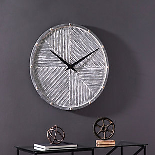 Croyne Round Hanging Wall Clock, , rollover