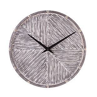 Croyne Round Hanging Wall Clock, , large