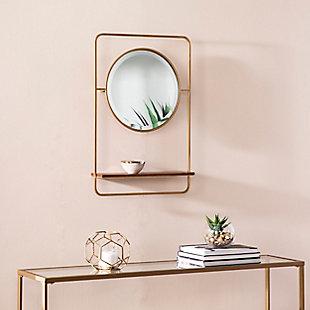 Palissa Entryway Mirror with Shelf, , rollover