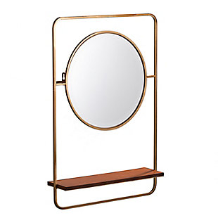 Palissa Entryway Mirror with Shelf, , large