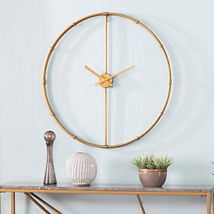 Lenora Large Metal Clock, , rollover
