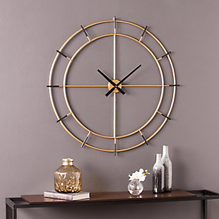 Margot Contemporary Decorative Wall Clock, , rollover
