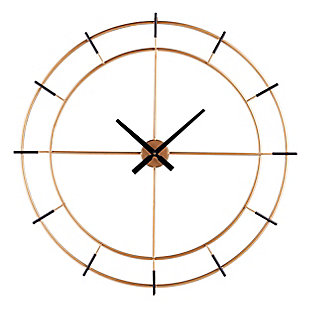 Margot Contemporary Decorative Wall Clock, , large