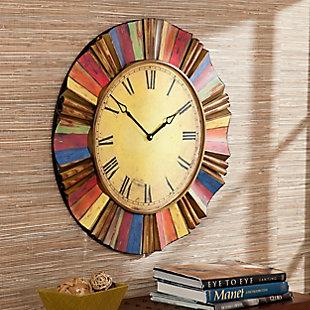 Lanie Multicolor Wall Clock, , rollover