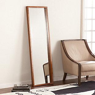 Yaddam Leaning Mirror - Dark Tobacco, , rollover