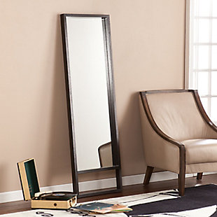 Davey Leaning Mirror - Ebony Stain, , rollover