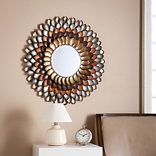Megna Round Decorative Mirror, , rollover
