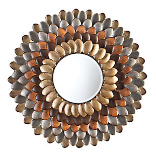 Megna Round Decorative Mirror, , large