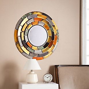 Ramona Round Decorative Mirror, , rollover